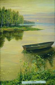 Закат на Святом озере